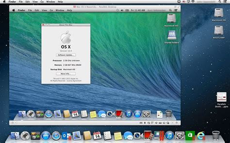 How to Run OS X Mavericks in a Parallels Virtual Machine