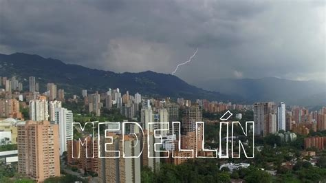 Medellín From Above (Drone Video) - YouTube