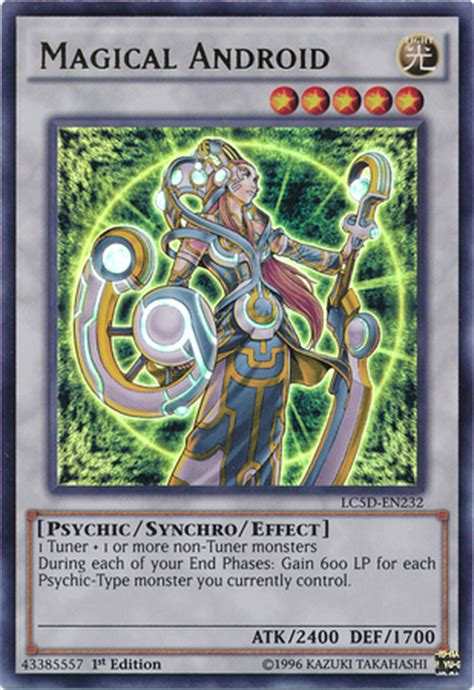 Magical Android | Yu-Gi-Oh! | FANDOM powered by Wikia