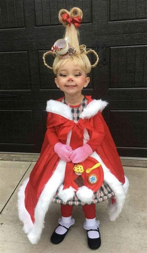 Cindy Lou Who 🎄 | Cute costumes, Halloween costumes for kids