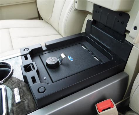 Truck Console Vault Safe To Hold Guns or Other Things