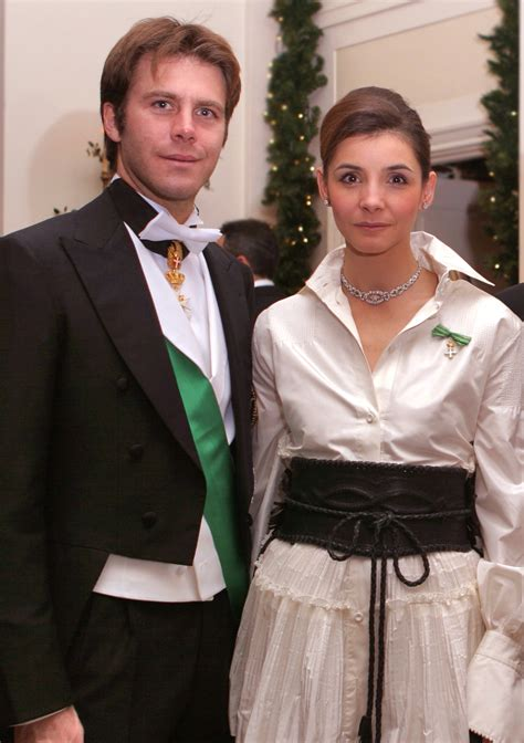 Italian Royal Couple Attend The American Foundation of