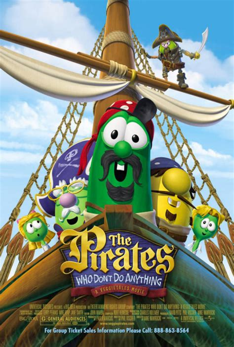 The Pirates Who Don't Do Anything (film) - Big Idea Wiki