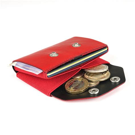 COIN CADDY Red - Ögon • Trove • Walter • Chipolo • Laceup