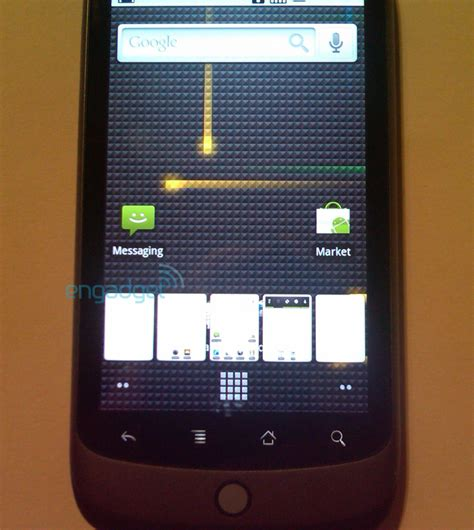 Google Nexus One with Android 2
