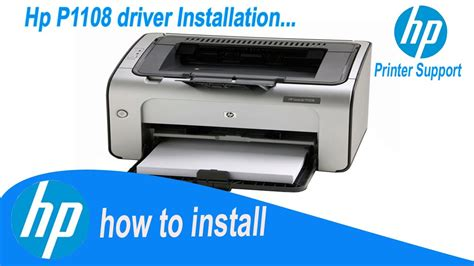 Hp Laserjet P1108 driver   How To Install Easily   Direct