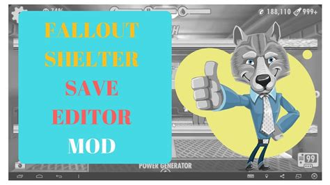 Fallout Shelter Mod | Fallout Shelter Save Editor - YouTube