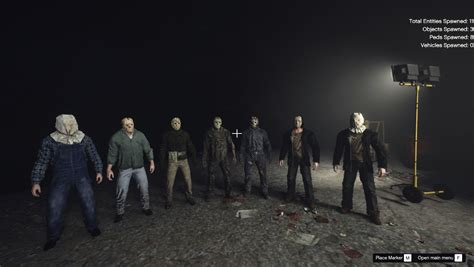 Jason Voorhees Friday The 13th complete pack (add-on