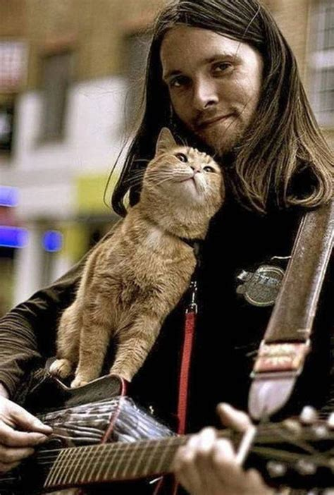Bob The Cat And James Bowen Give One Hell Of a Show