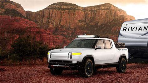 See The Rivian R1T Electric Pickup Truck Wearing Radical