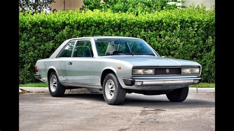 1972 Fiat 130 Coupe - YouTube