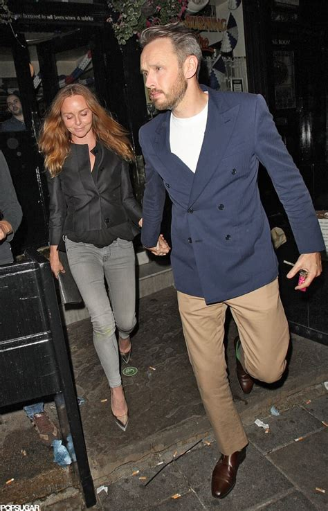 Stella McCartney and her husband Alasdhair Willis joined