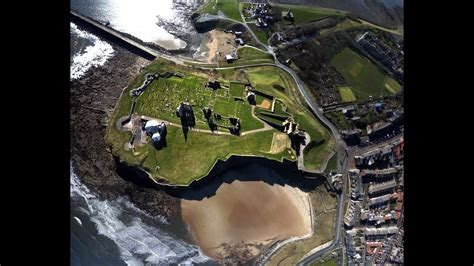 Tynemouth Castle aerial video - Over and Above Photography