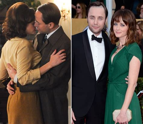 Alexis Bledel and Vincent Kartheiser | Real Couples Who