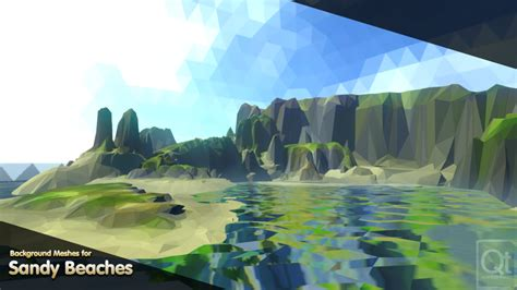 Vistas - PolyWorld: Low Poly Tools and 3D Art for Unity