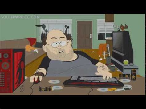 fat southpark guy playing world of warcraft - YouTube