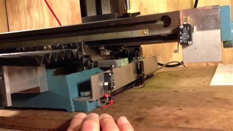 LMS HiTorque CNC Conversion - limit switches - YouTube
