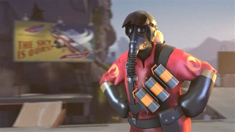 Games pyro tf2 team fortress 2 3d wallpaper   (17822)