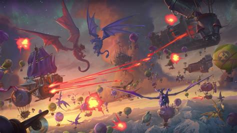 Blizzard Announces Hearthstone: Descent of Dragons And New