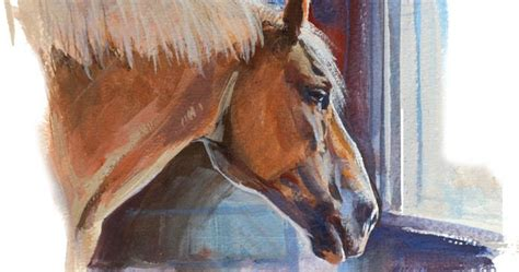 Gurney Journey: Painting a Donkey and a Horse from Life