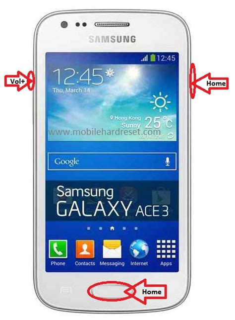 How to Hard Reset Samsung Galaxy Ace 3 GT-S7270