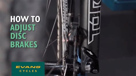 How to adjust disc brakes - YouTube
