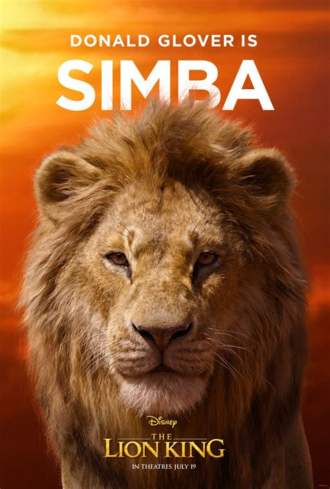 'The Lion King' Posters Provide a New Look at Donald